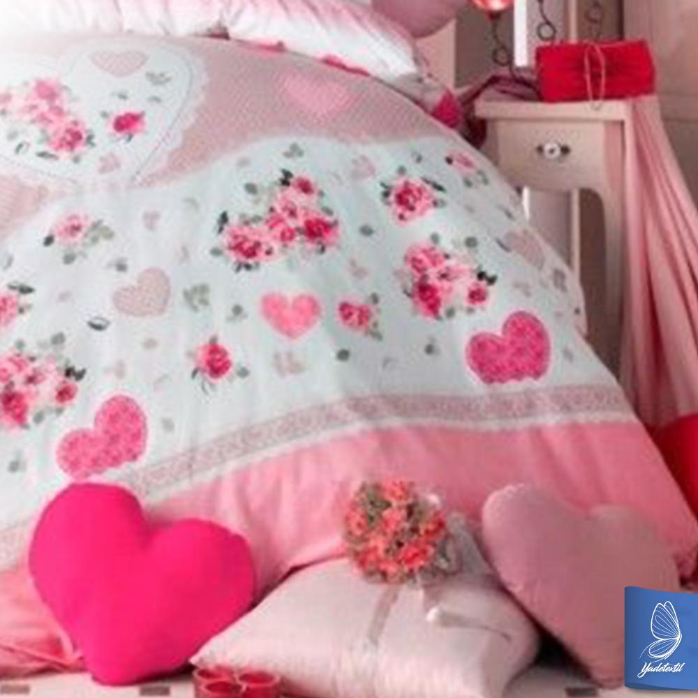 Bettwäsche 135x200 cm 1 x Kissenbezug 80x80cm Lovelyday Neu